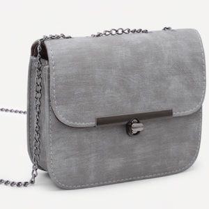 Handbags - 🖤Elegant Soft Grey Crossbody